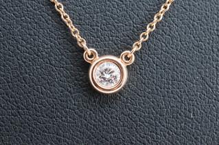 Tiffany & Co.(ティファニー) 750 バイヤザード ダイヤモンド ネックレス お買取りしました お宝専科豊橋店