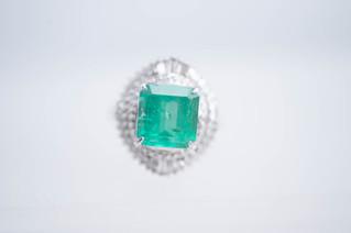 Pt900 エメラルドリング 色石宝石 お買取りしました 豊橋市のリサイクルショップならお宝専科豊橋店