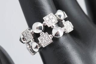 BVLGARI(ブルガリ) ルチア ダイヤモンドリング お買取りしました お宝専科豊橋店