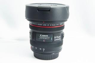 CANON(キャノン) EF FISH EYE 8-15mm F4 L 魚眼レンズ お買取りしました お宝専科豊橋店