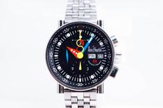 ALAIN SILBERSTEIN(アランシルベスタイン) クロノバウハウス 999本限定 LWO5100 自動巻き腕時計を212000円で買取りしました 豊橋市のリサイクルショップならお宝専科豊橋店