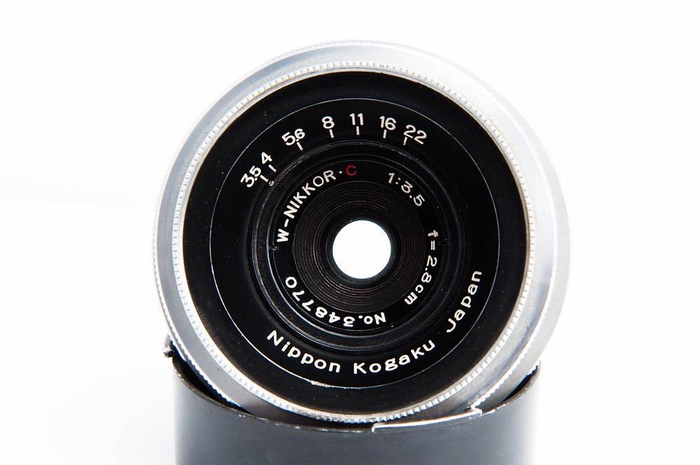 Nippon Kogaku W-NIKKOR C 2.8cm F3.5
