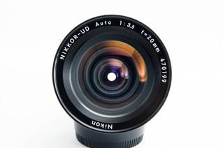 NIKON(ニコン) NIKKOR-UD Auto 20mm F3.5 広角レンズ お買取りしました お宝専科豊橋店