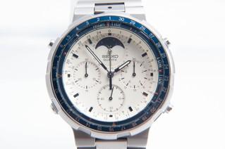 SEIKO(セイコー) 7A48-7050 フィッシングマスター ムーンフェイズ クォーツ腕時計 クロノグラフ お買取りしました お宝専科豊橋店