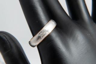 BURBERRY(バーバリー) K18/Pt900 コンビ リング 指輪 お買取りしました お宝専科豊橋店