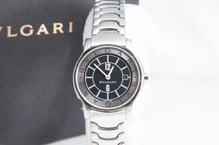 BVLGARI(ブルガリ) ソロテンポ ST29S クォーツ 腕時計 お買取りしました お宝専科豊橋店