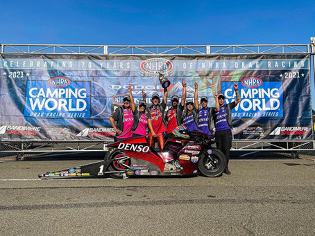 Buell® Dominates the NHRA Nationals