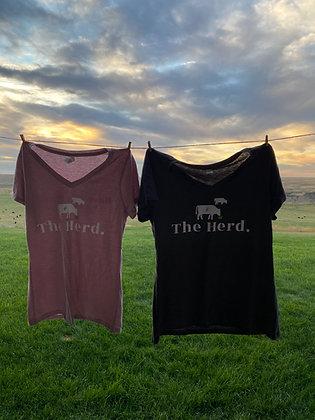 Women's V-Neck Herd Tee