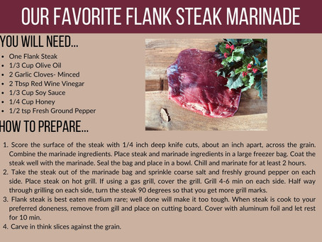 Our Favorite Flank Steak Marinade