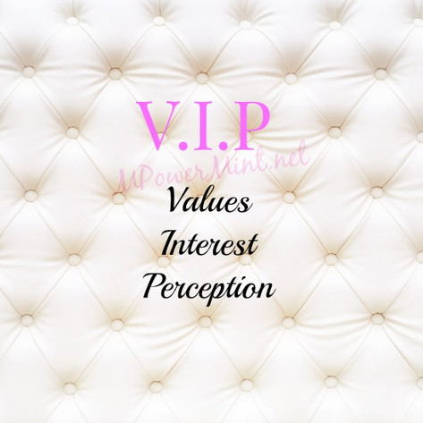 VIP (Values Interest Perception); Success Mindset