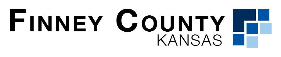 Finney County Logo with Typeset - Landsc