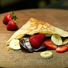 D- Chocolate y frutas e elección