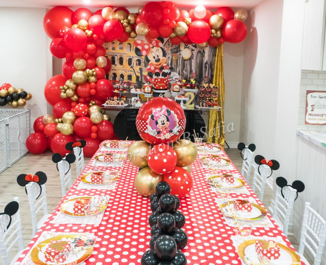 Luxe Kids Table Setup