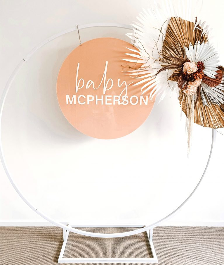 Luxe Hoop Dessert Display