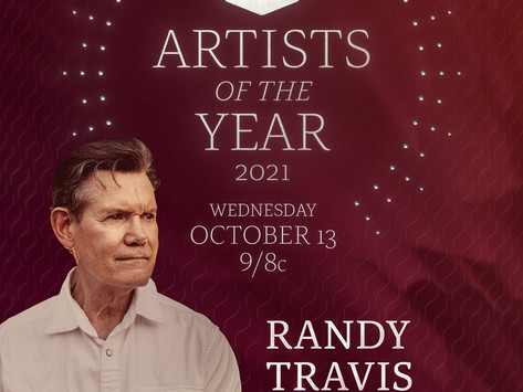 """CMT TO HONOR RANDY TRAVIS WITH """"ARTIST OF A LIFETIME"""" AWARD"""