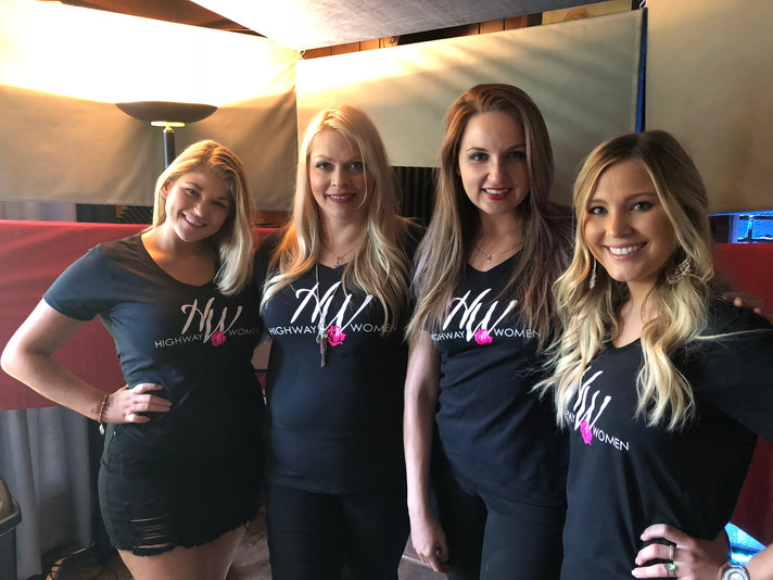 Sara Ann Garrison, Jenn Ford, Justine Blazer (Producer) & Karissa Ella