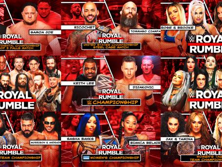 Royal Rumble (2021) PPV Card