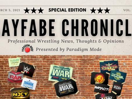 Kayfabe Chronicle: Monthly Pro Wrestling Newsletter