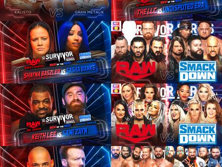 Survivor Series (2020) PPV Card