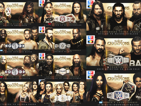 Clash of Champions PPV (2020) Card