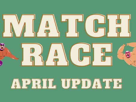 Neitzey v Edwards 2021 Match Race - April Update