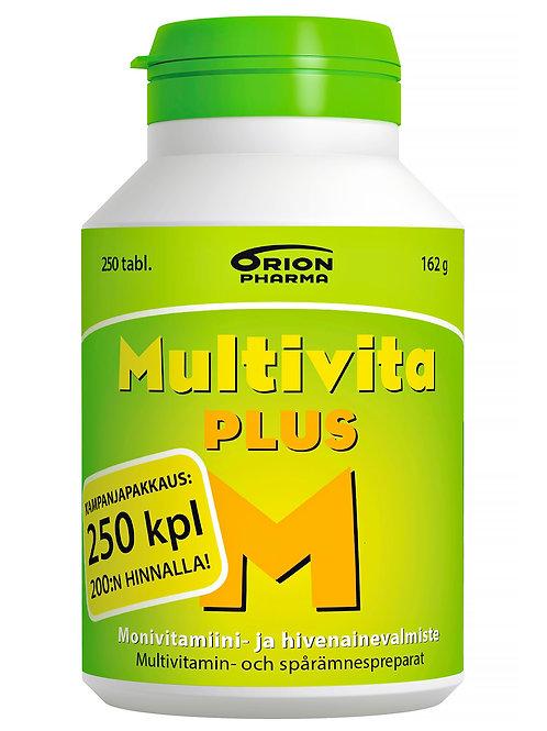 Multivita Plus monivitamiini 250 tabl