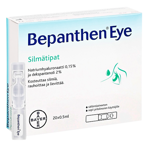 Bepanthen Eye 20x0,5 ml silmätipat