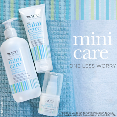 ACO Minicare -ihonhoitosarja -20%