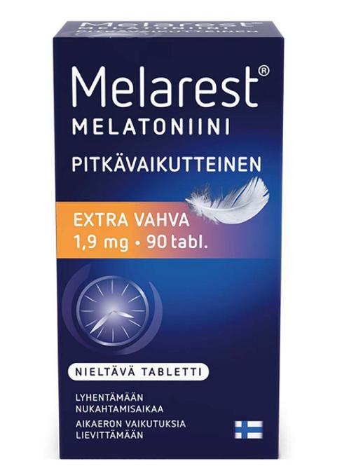 Melarest Extra vahva, 3 erilaista, 90 tai 100 tabl.