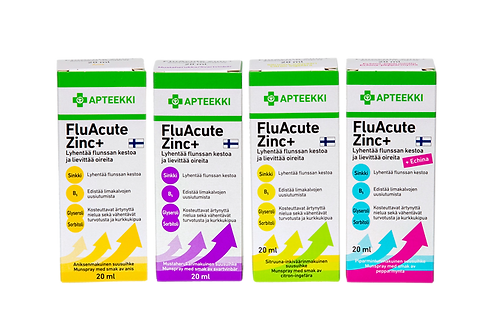 FluAcute Zinc+ suusuihke 20 ml