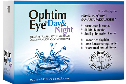 Ophtim Eye Day & Night silmätipat 30 x 0,5 ml