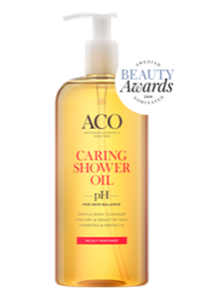 Aco Caring Shower Oil suihkuöljy –15%