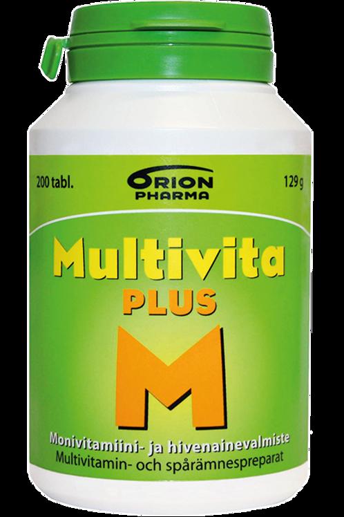 Multivita Plus 200 tablettia