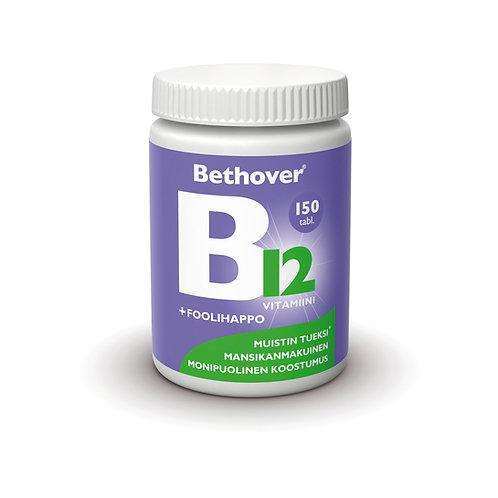 Bethover B12 + foolihappo 1mg 150 purutabl