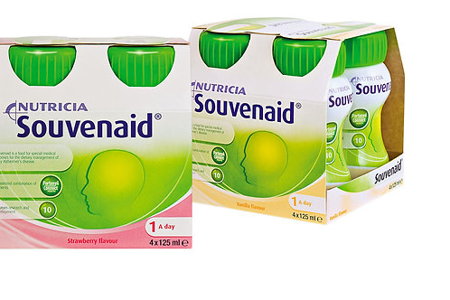 Nutricia Souvenaid ravintovalmistejuoma 4x125 ml
