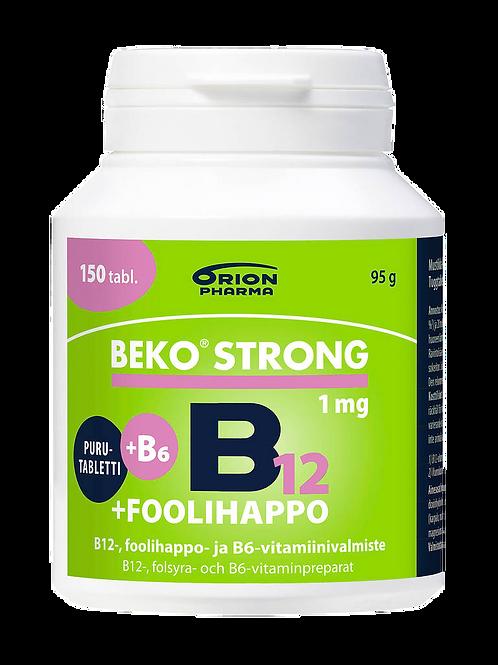 Beko Strong B12+fooliha+B6 purutabletti
