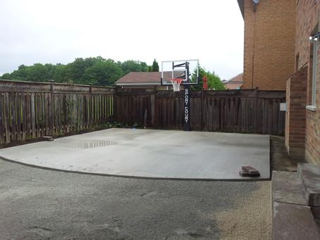 New Work Stress Solution: Backyard Sport Court