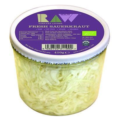 Raw Health Organic Sauerkraut