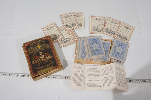 Early 1900s Game Of Star Authors By Mcloughlin Bros