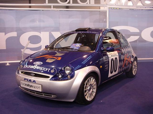Headlights Ford Ka Rally Look