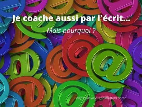 Coaching et écrit
