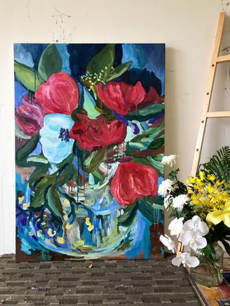 130x89 cm, oil on canvas