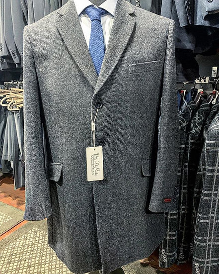 Vito De Pinto Collection Men's 100% Wool Coat