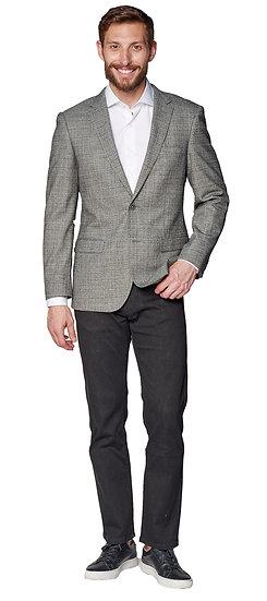 Giovanni Bresciani Grey Sharkskin Sport Jacket