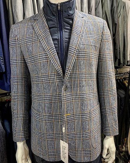 Vito De Pinto Collection Detachable 100% Wool Men's Blazer