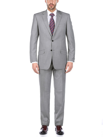 VDP Collection Men's Slim Suit (Grey)