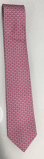 Salvatore Ferragamo Silk Pink Tie