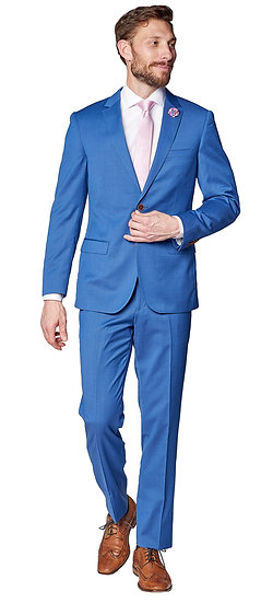Giovanni Bresciani Superman Blue Suit