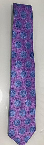 Ermenegildo Zegna Men's Geometric Print Silk Tie