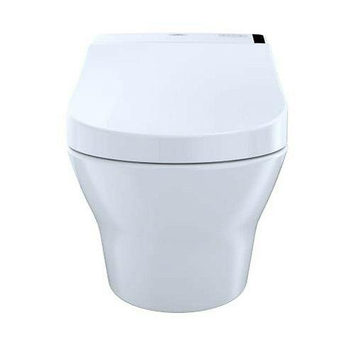 Inodoro de colgar MH + Washlet C200 + Cisterna Oli+ Tecla Plateada Iplate Oli